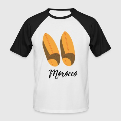 Moroccan traditional shoes - Men's Baseball T-Shirt