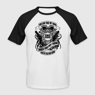 Guns - Männer Baseball-T-Shirt
