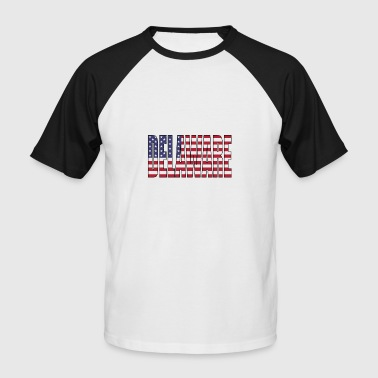 delaware USA - T-shirt baseball manches courtes Homme