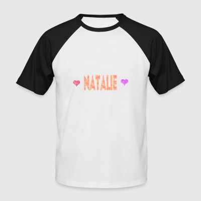 Natalie - T-shirt baseball manches courtes Homme