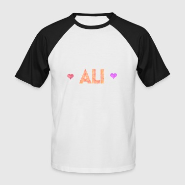 Ali - T-shirt baseball manches courtes Homme