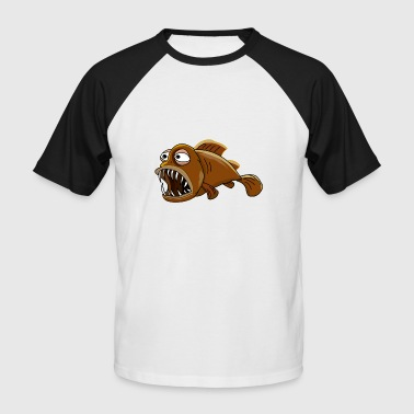 frogfish dangereuses - T-shirt baseball manches courtes Homme