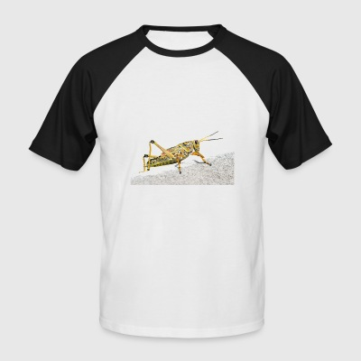 grasshopper locust grasshopper - Men's Baseball T-Shirt