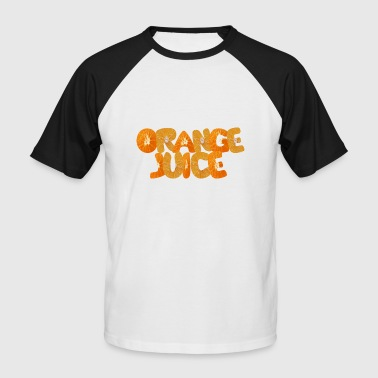 jus d'orange - T-shirt baseball manches courtes Homme