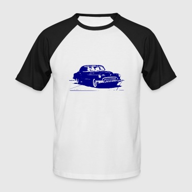 Old Timer in blau - Männer Baseball-T-Shirt