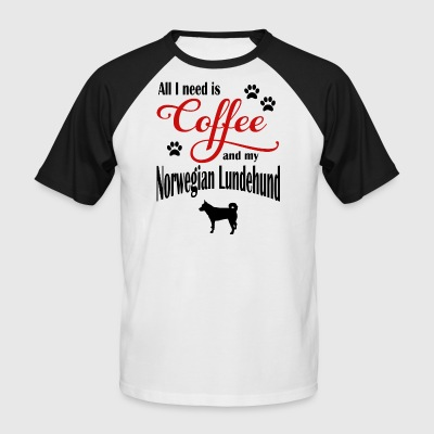 Norwegian Lundehund Coffee - Men's Baseball T-Shirt