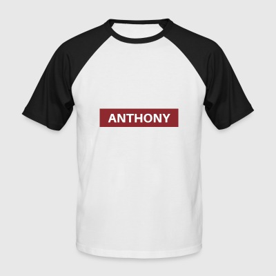 Anthony - T-shirt baseball manches courtes Homme