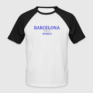 BARCELONE 1992 b1 - T-shirt baseball manches courtes Homme