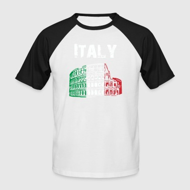 Nation-Design Italy 01 - Men's Baseball T-Shirt