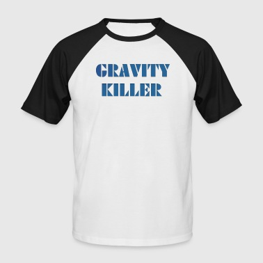 Gravity Killer - Kortermet baseball skjorte for menn