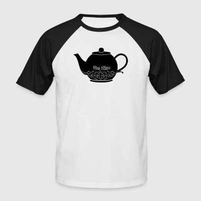 Tea Time - T-shirt baseball manches courtes Homme