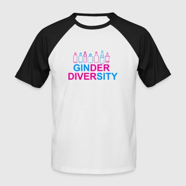 GINder Diversity - Men's Baseball T-Shirt
