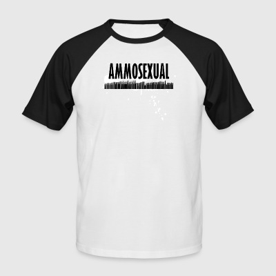 Ammosexual Multi-Caliber (black) - Men's Baseball T-Shirt