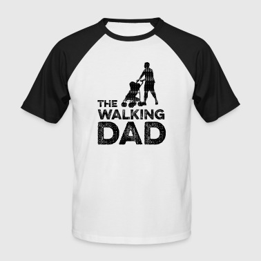 The Walking Dad - Men's Baseball T-Shirt