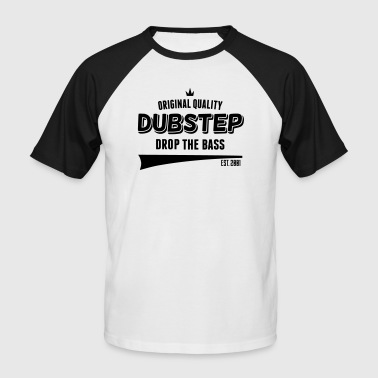 Original Dubstep - Drop The Bass - Koszulka bejsbolowa męska