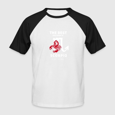 scorpion horoscope Geburtstag Oktober november - Männer Baseball-T-Shirt