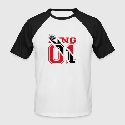 country partner king 01 prince Trinidad Tobago - Men's Baseball T-Shirt