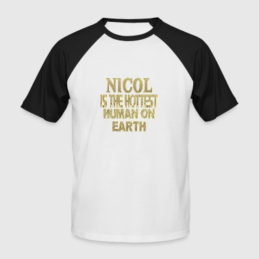 Nicol - T-shirt baseball manches courtes Homme