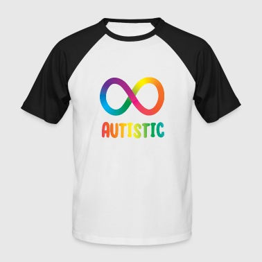 Autistic Infinity - Men's Baseball T-Shirt