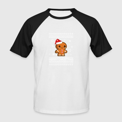 Gingerbread Christmas t-shirt gift - Men's Baseball T-Shirt