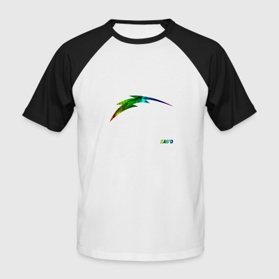 Kas'D | Marble Fade - Men's Baseball T-Shirt
