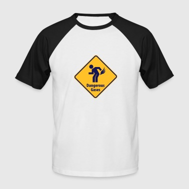 Attention je pète - T-shirt baseball manches courtes Homme