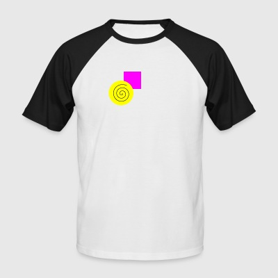 Cercle exploite rectangle - T-shirt baseball manches courtes Homme