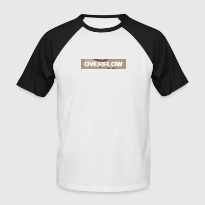 Overflow - Men's Baseball T-Shirt
