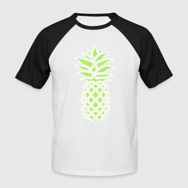 PINEAPPLE GEOMETRIC - Männer Baseball-T-Shirt