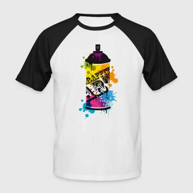 Spraydosen Graffiti - Männer Baseball-T-Shirt