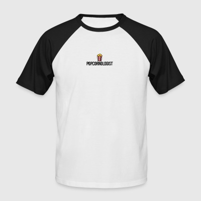 Popcornologist - Men's Baseball T-Shirt