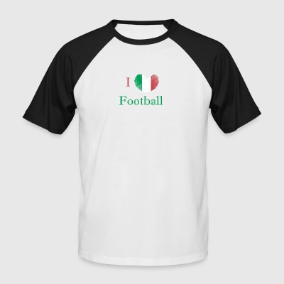 Football fan Italy - Men's Baseball T-Shirt