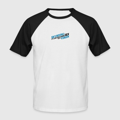 Skydive - Men's Baseball T-Shirt