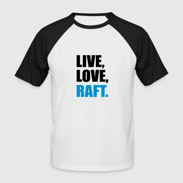 rafting - T-shirt baseball manches courtes Homme