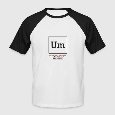 Chemist / chemisch: To - The Confused element - Mannen baseballshirt korte mouw