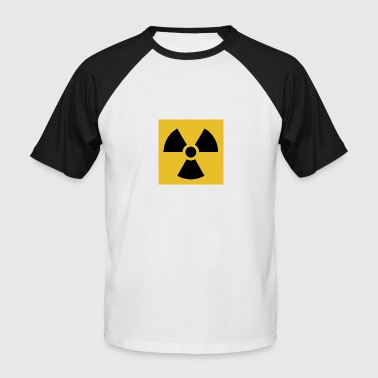 Radiation warning - Männer Baseball-T-Shirt