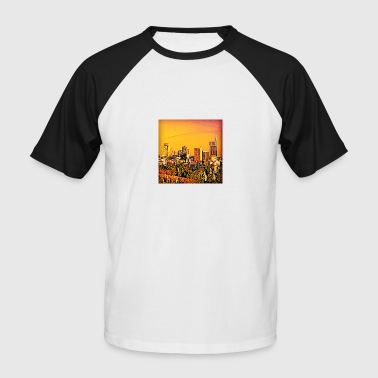Milan Skyline - Men's Baseball T-Shirt
