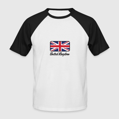 National Flag Of The United Kingdom - Men's Baseball T-Shirt
