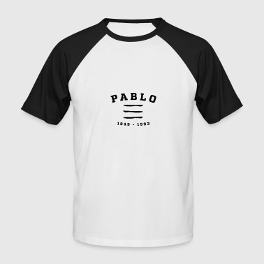 Pablo 1949-1993 - T-shirt baseball manches courtes Homme