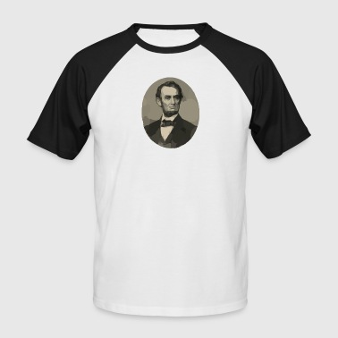 Abraham Lincoln - T-shirt baseball manches courtes Homme