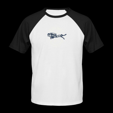 Scuba Diver2 - Men's Baseball T-Shirt