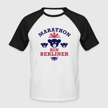 marathon_bin_berliner - Men's Baseball T-Shirt