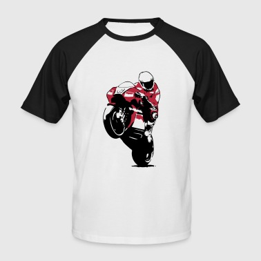 Moto-GP Racing - T-shirt baseball manches courtes Homme