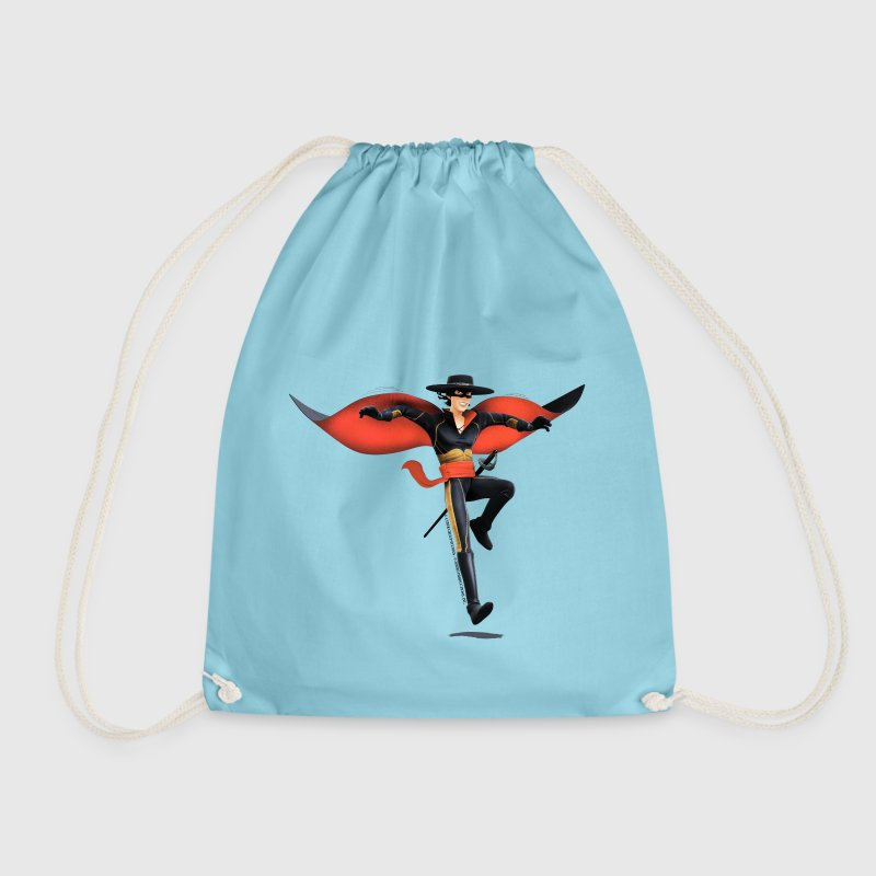 Zorro The Chronicles With Sword And Whip - Drawstring Bag