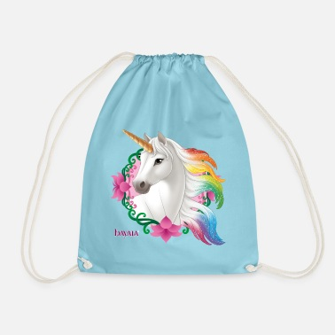 Schleich Bayala rainbow unicorn mare - Drawstring Bag