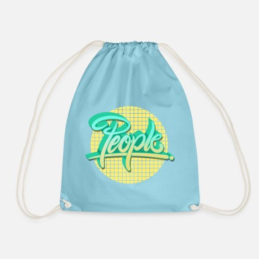 People people people - Drawstring Bag