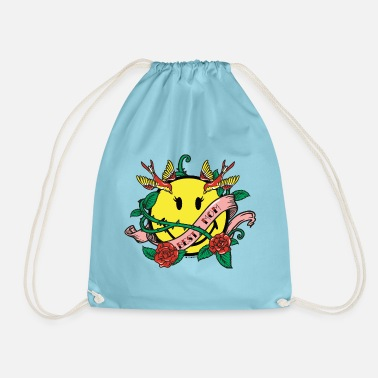 SmileyWorld Best Mom - Drawstring Bag