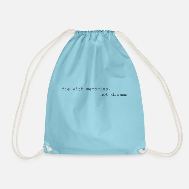 Memory Memories - Drawstring Bag