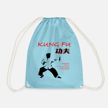 Kung Fu Fighter - Red/Black - Gymtas