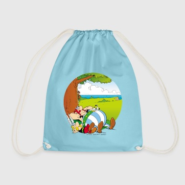 Asterix & Obelix are sleeping Women's Hoodie - Drawstring Bag